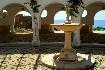 Rhodos Kalithea lázně antika fontána Řecko