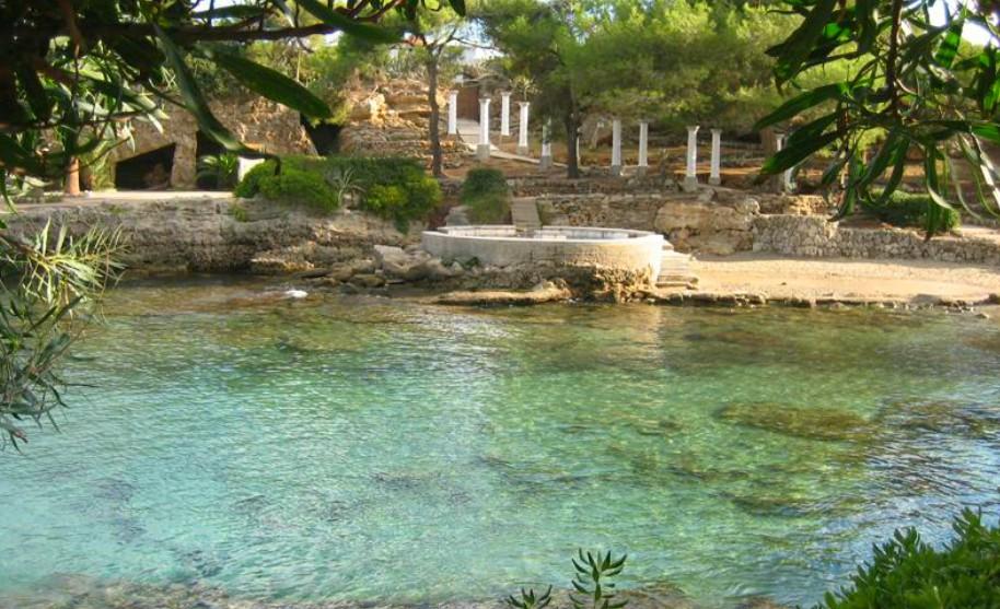 Rhodos Kalithea moře slunce příroda Řecko