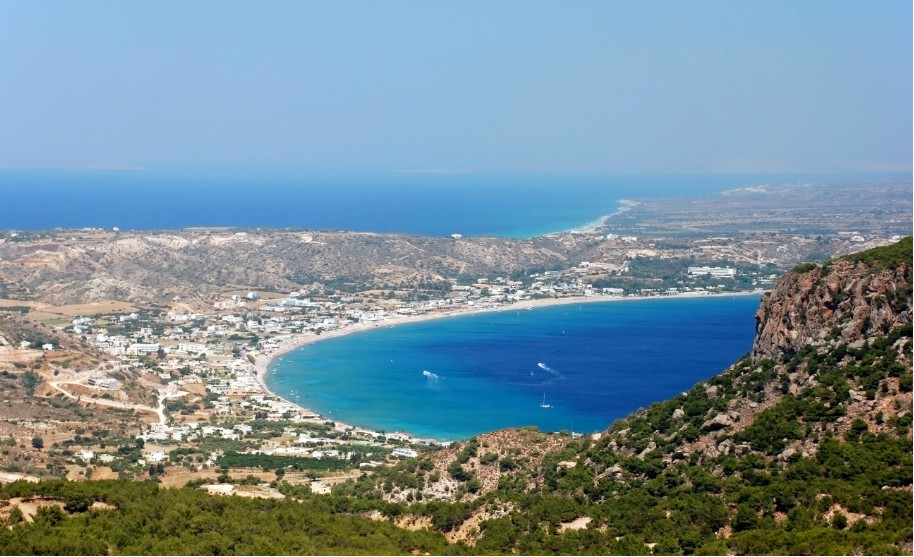 Kos ostrov poloostrov Kefalos moře pláž slunce příroda Řecko
