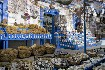 Kos výlet vesnička Zia mušle prodejna suvenýry Řecko