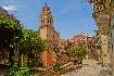 Kostel na Korfu romantická ulice města Korfu