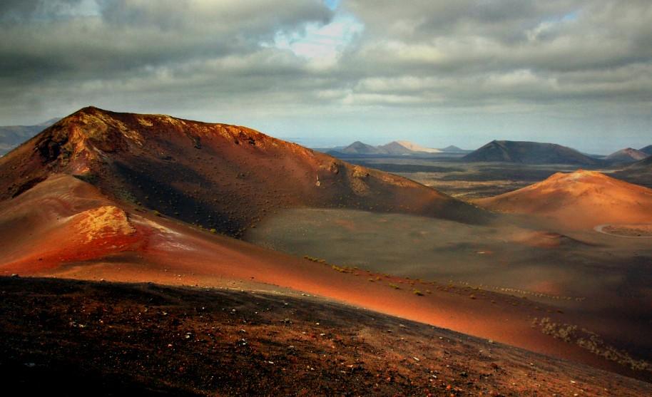 vulkanický národní park Timanfaya na Lanzarote