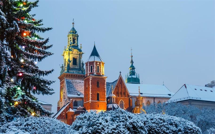 Adventní trhy v Krakově (fotografie 5)