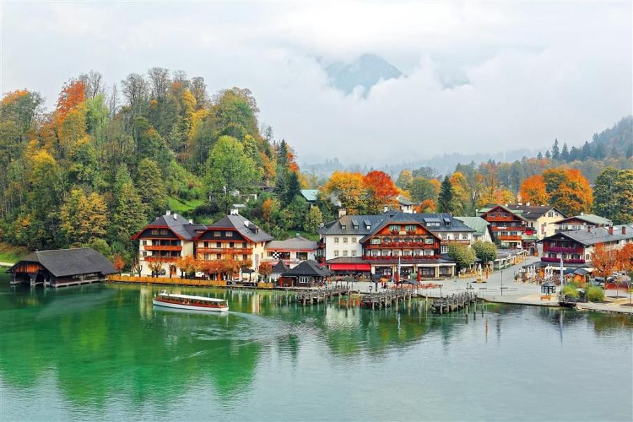 Orlí Hnízdo A Jezero Königssee (fotografie 8)