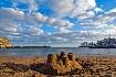 proslulá pláž Mogan Beach na Gran Canarii na Kanárských ostrovech