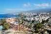 pohled na město a pobřeží na Terefie