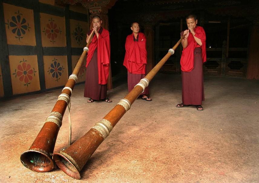 Nepál - Bhútán - západní Bengálsko - poslední Šangri-La a festival (fotografie 9)