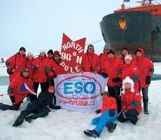 Ledoborcem na severní Pól - Plavba, s průvodcem