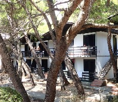 Rodinné bungalovy Neptun klub Baška Voda