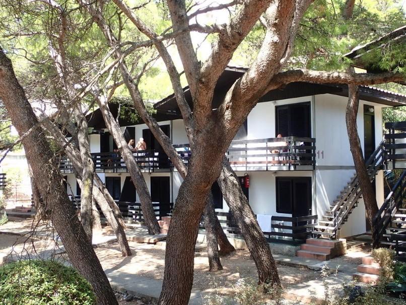Rodinné bungalovy Neptun klub Baška Voda (fotografie 1)