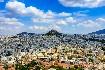 panoramatický pohled na Athény Akropole a chrám Parthenon kouzelné velkoměsto
