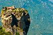 kláštery Meteora poblíž města Kalambaka v Řecku