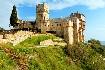 klášterní komplex na Athosu Mount Athos v Řecku