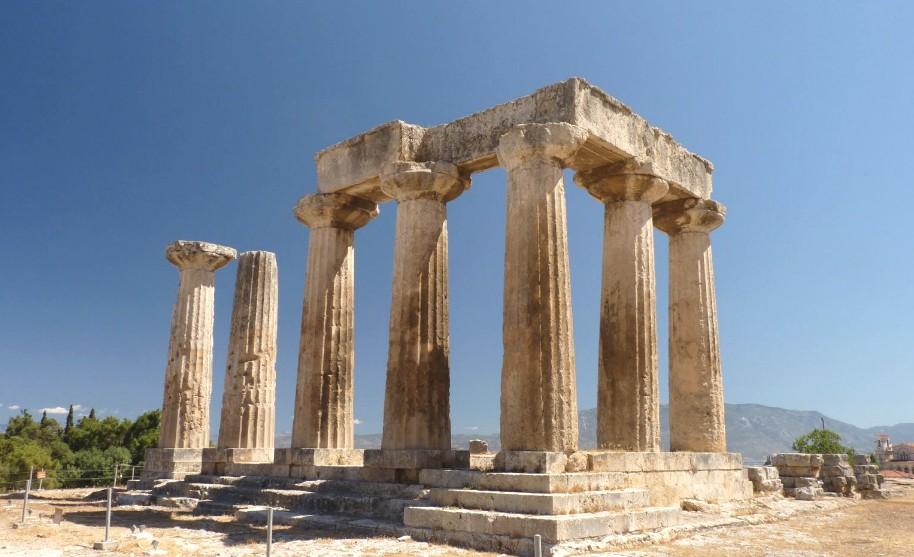 Antický Corinth na Peloponésu