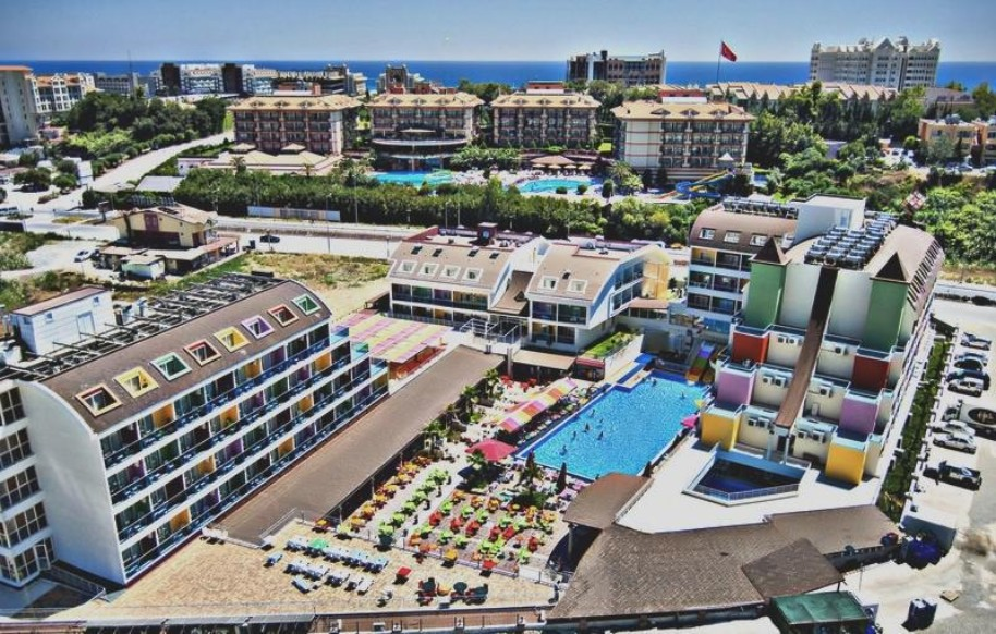 Hotel Blue Paradise Side 55+ (fotografie 3)