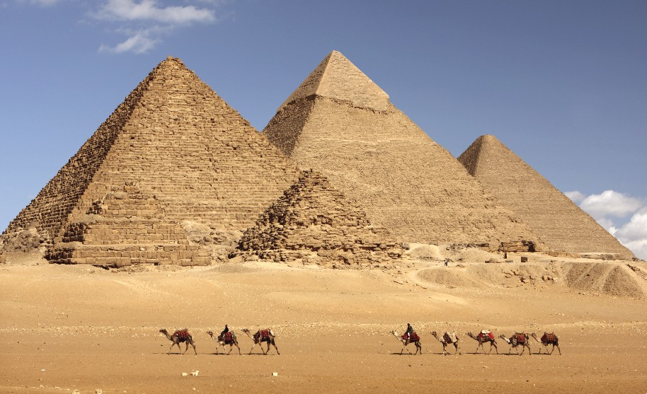Egyptské pyramidy v Gíze