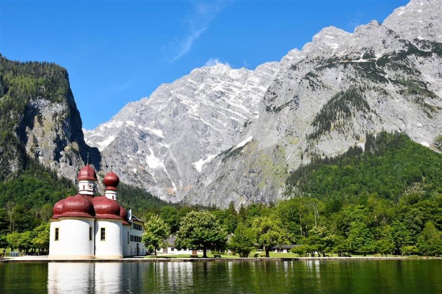 Orlí hnízdo a jezero Königsee (fotografie 7)