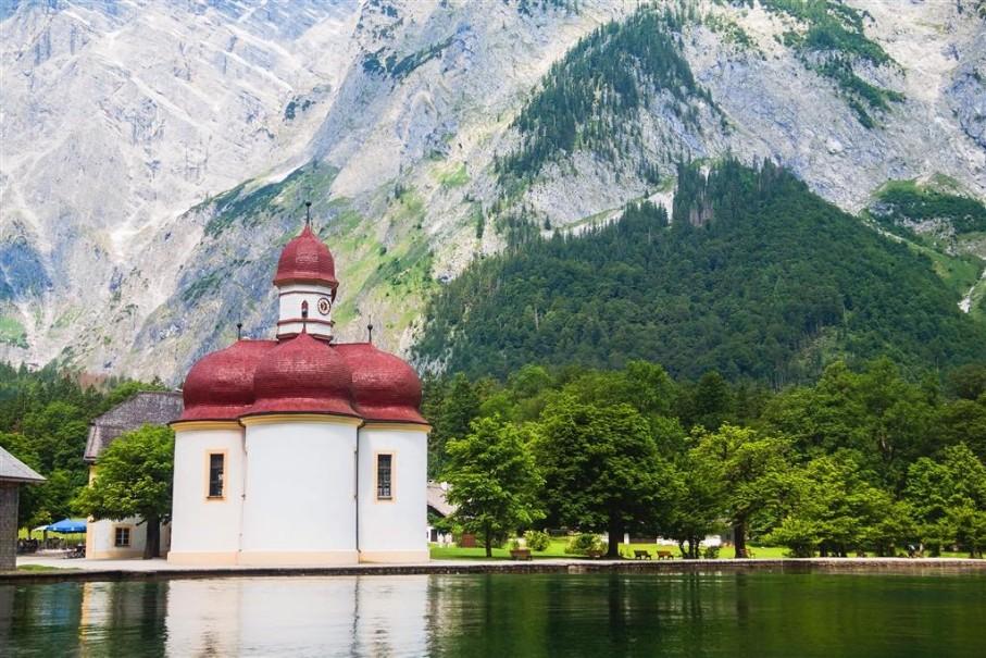 Orlí hnízdo a jezero Königsee (fotografie 8)