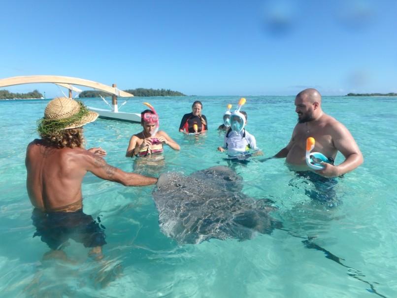 Francouzská Polynésie - Plavba (fotografie 22)