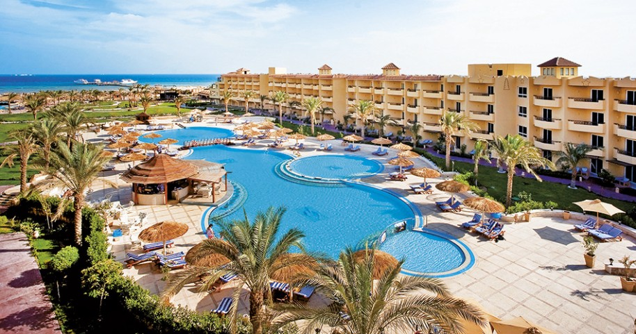 Hotel Amwaj Blue Beach Resort & Spa Abu Soma (fotografie 1)