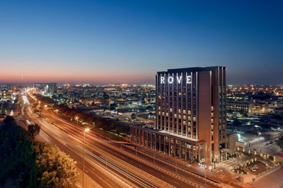 Hotel Rove Trade Centre (fotografie 1)