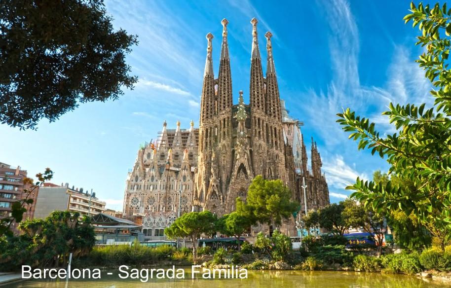 Barcelona – Gaudího Sagrada Familia, Parc Guell, La Pedrera – Casa Milá, památky Unesco (fotografie 9)