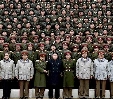 Okruh severní Koreou