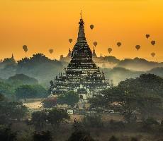 Okruh Myanmarem s odpočinkem v Thajsku