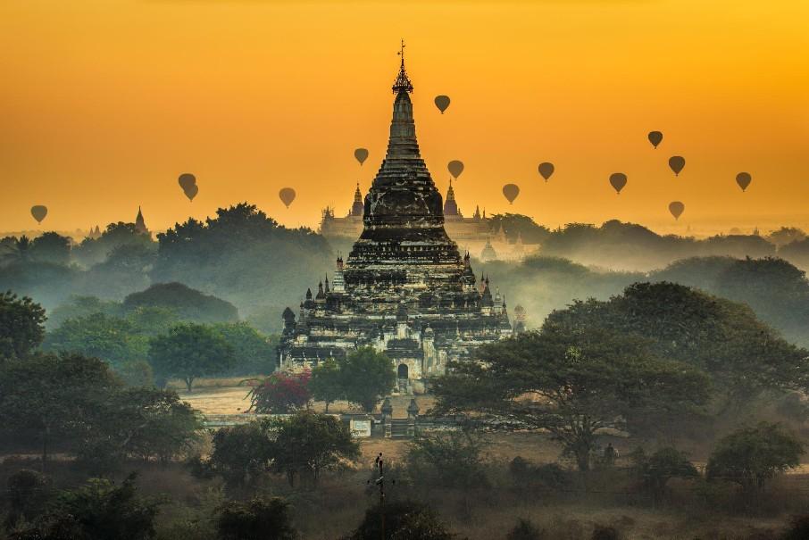 Okruh Myanmarem s odpočinkem v Thajsku (fotografie 1)