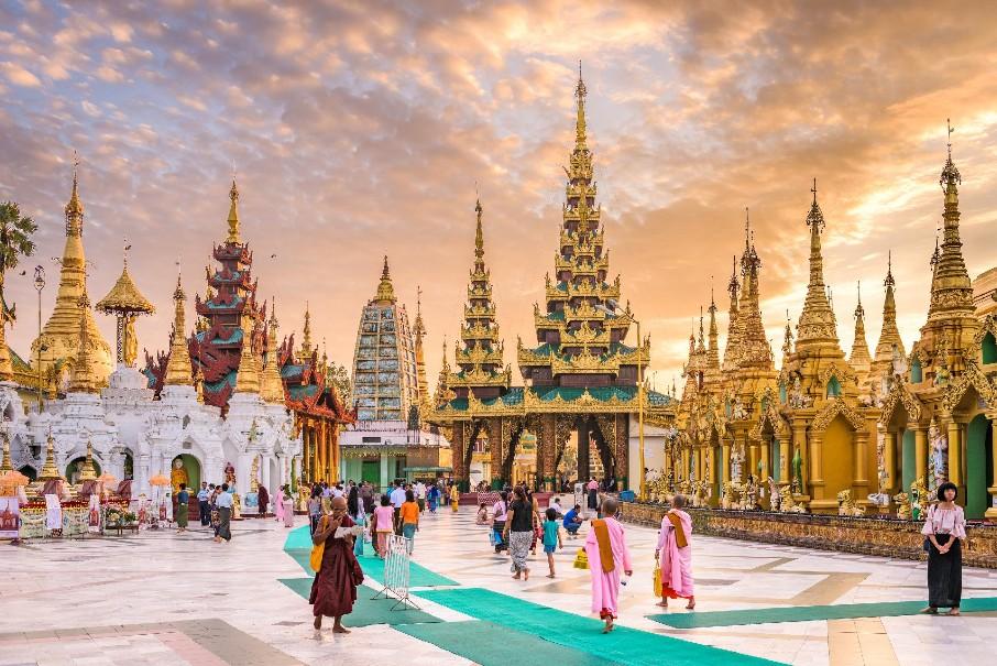 Okruh Myanmarem s odpočinkem v Thajsku (fotografie 7)