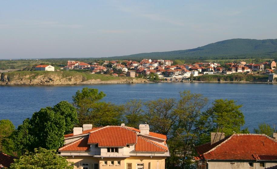 Pohled na letovisko Carevo v Bulharsku