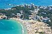 Krásná pláž v letovisku Kiten v Bulharsku