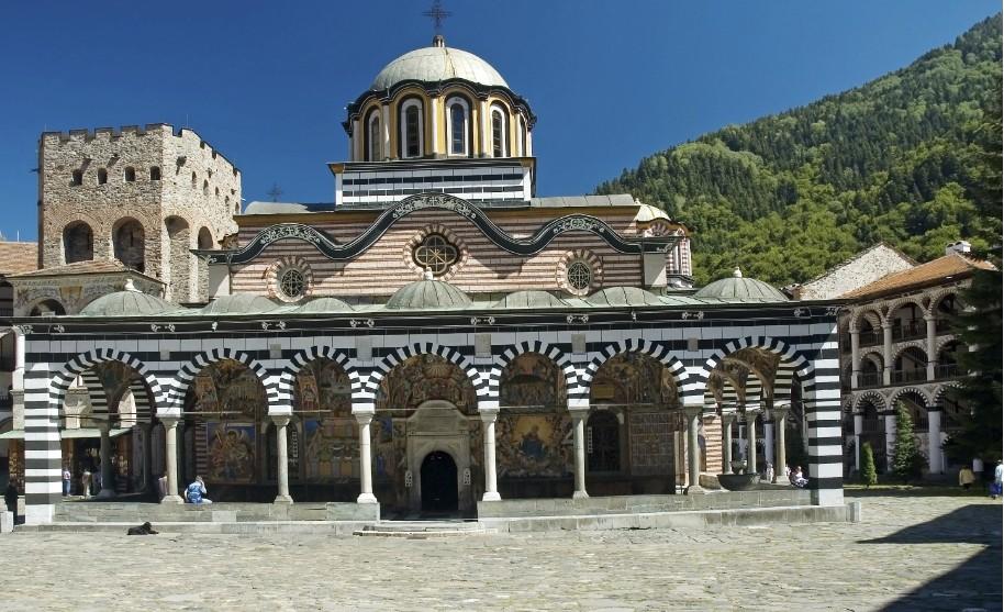 Rilský klášter v Bulharsku