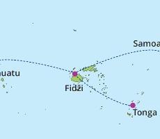 Samoa – Tonga – Fidži – Vanuatu