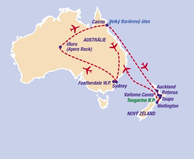 Austrálie - Nový Zéland (fotografie 5)