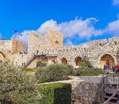 Velký okruh Izraelem + Galilejské jezero + Bahajské zahrady + moře