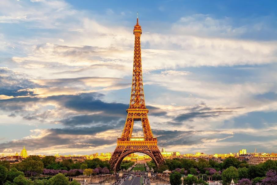 Silvestr v Paříži (fotografie 3)