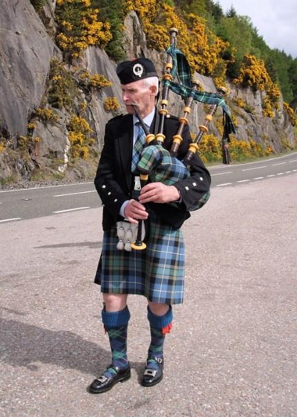 Skotsko za tajemstvím jezera Loch Ness (fotografie 2)