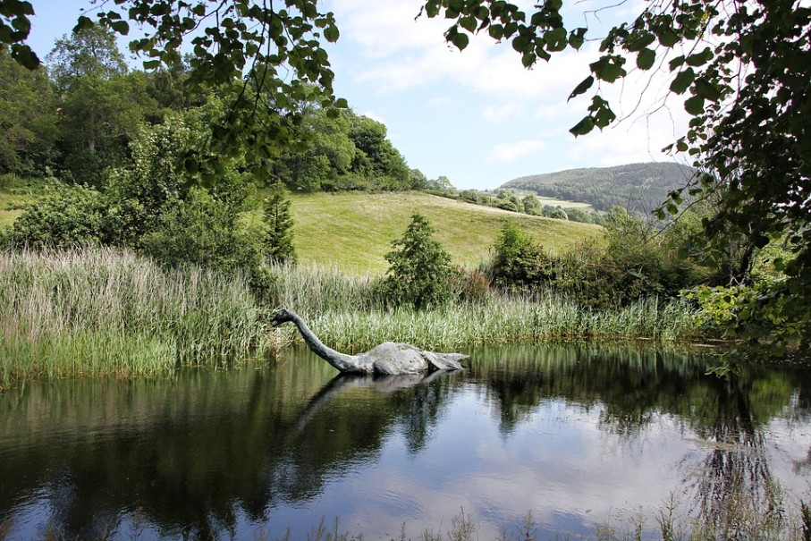 Skotsko za tajemstvím jezera Loch Ness (fotografie 13)