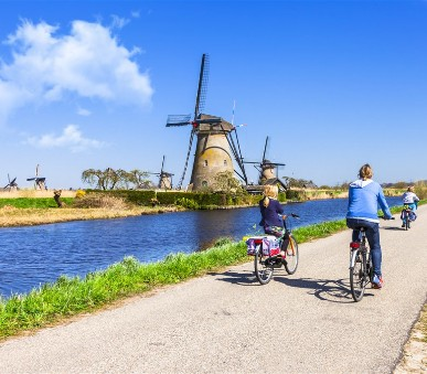 Holandsko - země sýrů, větrných mlýnů a grachtů