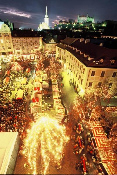 Vánoční Bratislava (fotografie 1)