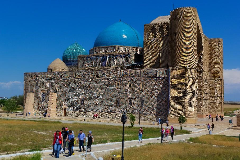 Cesta po Hedvábné stezce Kyrgystán Kazachstán (fotografie 2)