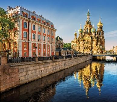 Petrohrad víkendy 4 dny