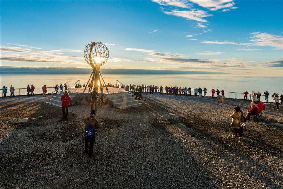 Nordkapp - velká cesta za polární kruh (fotografie 2)