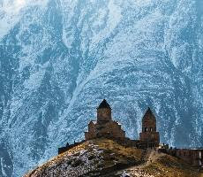 Lyžování jinak aneb zimní radovánky v Gruzii