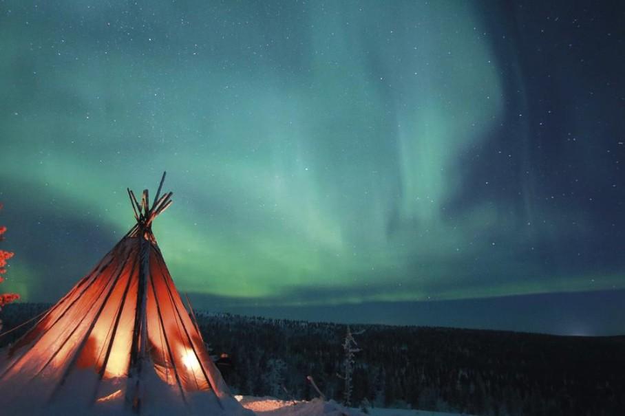 Finsko - Magická krása zimního severu (fotografie 11)