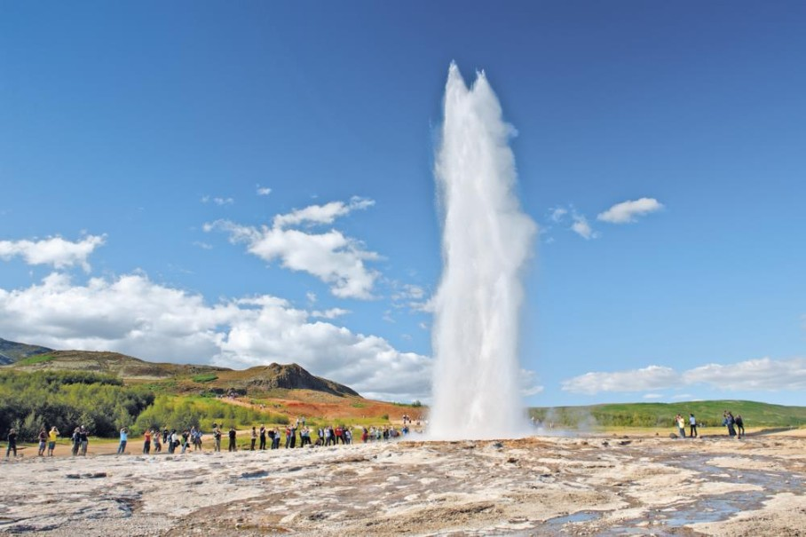 Islandská pohlednice - Letecké víkendy (fotografie 1)