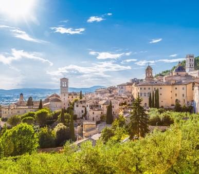 Nádherná Umbrie - Assisi, Perugia a koupání