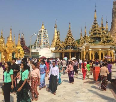 Myanmar - památky, příroda, koupání