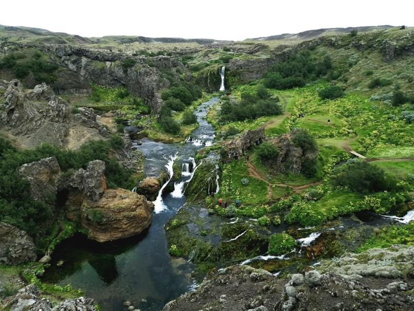 Krásy Islandu s turistikou (fotografie 1)